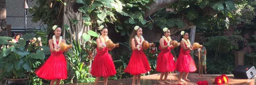 Hula in Royal Hawaiian Center