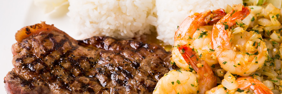 Web site Special.  Steak&Shrimp Full size  20% OFF on 21th April.